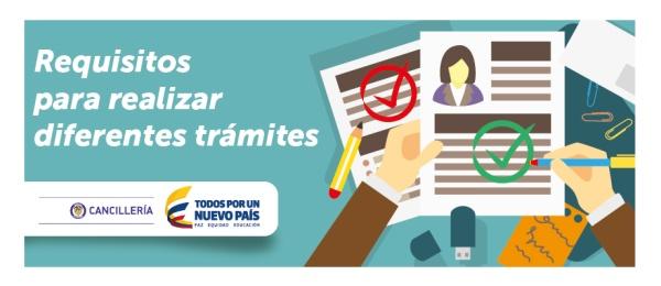 Requisitos para realizar diferentes trámites en el Consulado de Colombia en Los Ángeles